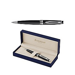Waterman - Matte black chrome trim expert 3 medium ball pen
