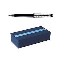 Waterman - Black chrome trim expert 3 ball pen