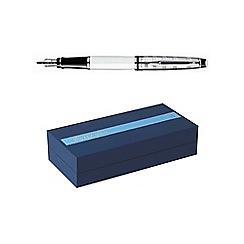Waterman - White chrome trim expert 3 fountain pen