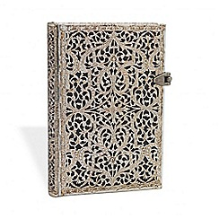 Paperblanks - 'Shadow Filigree' mini lined journal