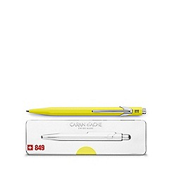 Caran D'Ache - Fluo yellow '849' ball pen