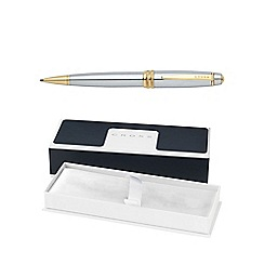 Cross - Chrome gold bailey medalist ball pen