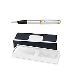 Cross - Chrome gold bailey medalist medium fountain pen