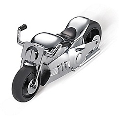 Troika - Chrome motorbike desk set