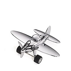 Troika - chrome airplane desk set