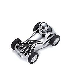 Troika - chrome racing car desk set