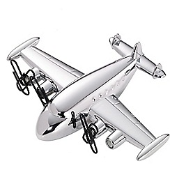 Troika - Chrome airliner desk set