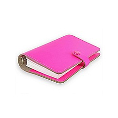 Filofax - Fluro pink original personal organiser