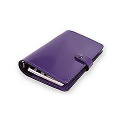 Filofax - Patent purple original personal organiser