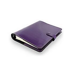 Filofax - Patent purple original a5 organiser