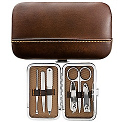 Maranda - Brown 6 piece manicure set