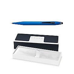 Cross - Metallic blue tech 2 ball pen and stylus multipen