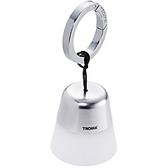 Troika - Chrome torch bag light/keyring