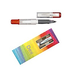 Dex - Red dex compact clear ink liner