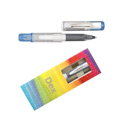 Blue dex compact clear ink liner - . -