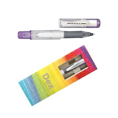 Lilac dex compact clear ink liner - . -