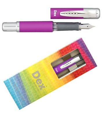 Magenta dex compact soft fountain pen - . -