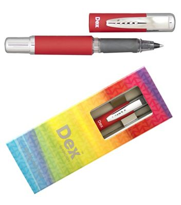 Red dex compact soft ink liner - . -