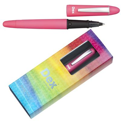 Bright pink dex smooth soft ink liner - . -