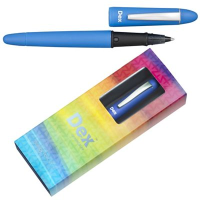 Denim blue dex smooth soft ink liner - . -
