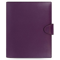 Filofax - Purple calipso a5 organiser