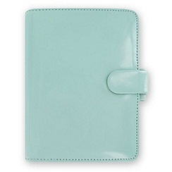 Filofax - Duck egg patent pocket organiser