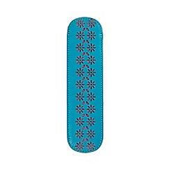 Kingsley - Turquoise laser daisy slip case