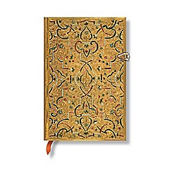 Paperblanks - Gold inlay mini lined journal