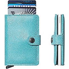 Secrid - Glamour azure 'Miniwallet'