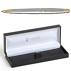 Kingsley - Satin Chrome Windsor Ball Pen