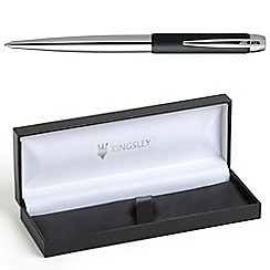 Kingsley - Black Chrome Somerton Ball Pen