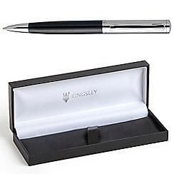 Kingsley - Chrome Black Barnum Ball Pen