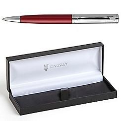 Kingsley - Chrome Red Barnum Ball Pen