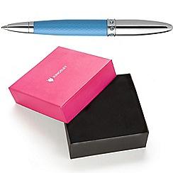 Kingsley - Turquoise Harlequin Mini Ball Pen