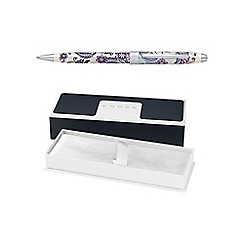 Cross - Purple botanica orchid ball pen