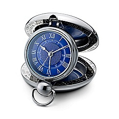 Dalvey - blue 'Voyager' clock