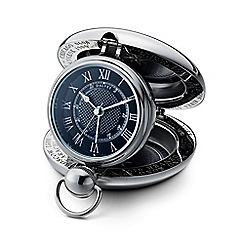 Dalvey - black 'Voyager' clock