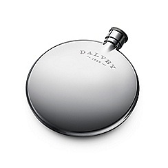Dalvey - Brushed chrome compact flask