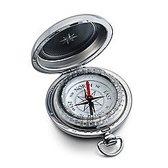 Dalvey - brushed chrome compass