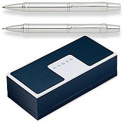 Cross - lustrous chrome 'Nile' ball pen/pencil