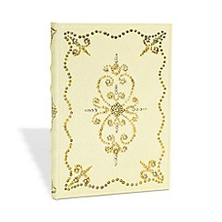 Paperblanks - Buttercream 'Shimmering Delights' midi journal