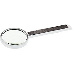 Stratton - chrome plated magnifying glass