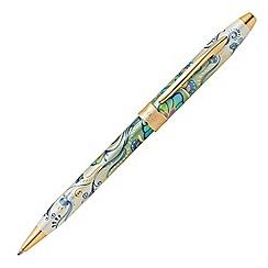 Cross - Green botanica daylily ball pen