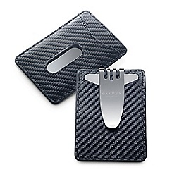 Dalvey - black 'Nocturna' credit card money clip