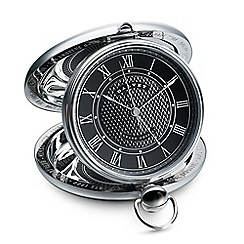 Dalvey - black 'Grand Odyssey' clock