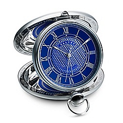 Dalvey - blue 'Grand Odyssey' clock