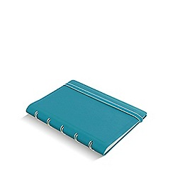 Filofax - Aqua refillable pocket notebook