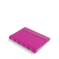 Filofax - Fuschia refillable pocket notebook