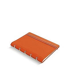 Filofax - Orange refillable pocket notebook