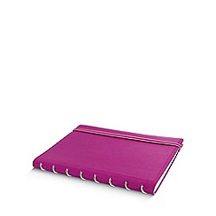 Filofax - Fuschia refillable a5 notebook